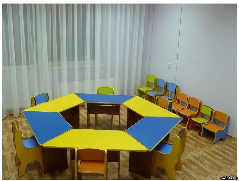 Детский сад, комната приема пищи и занятий, фото 2 красноярс.